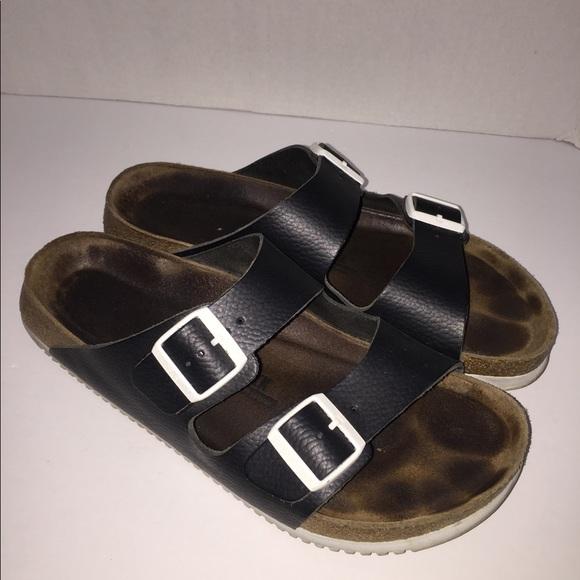 47c4a04516bb Birkenstock Other - Birkenstock men black soft footbed Arizona Sandal